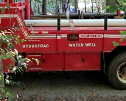 Hydro-fracture truck